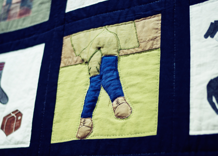 Royal Newfoundland Regiment quilt