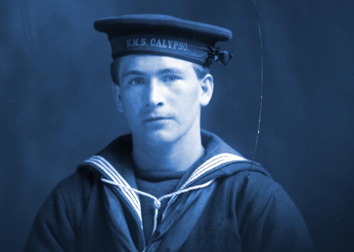 George Herbert Miller, Royal Naval Reserve, n.d.