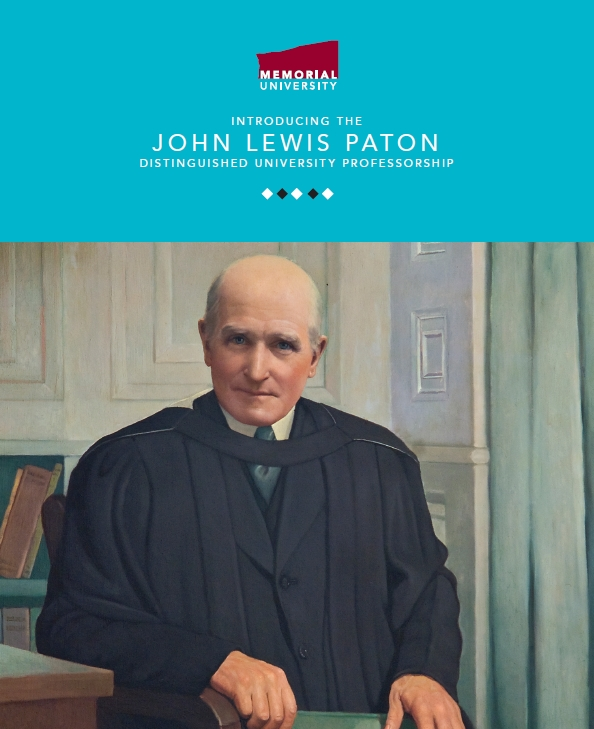 John Lewis Paton Distinguished University Professorship