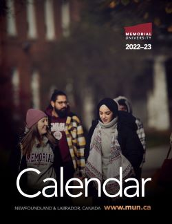 Current University Calendar Cover